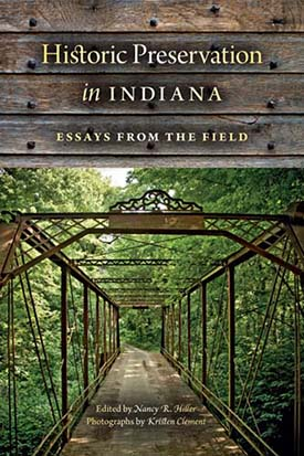 book cover - Historic Preservation in Indiana