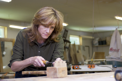 Nancy Hiller  - Professeional Woodworker