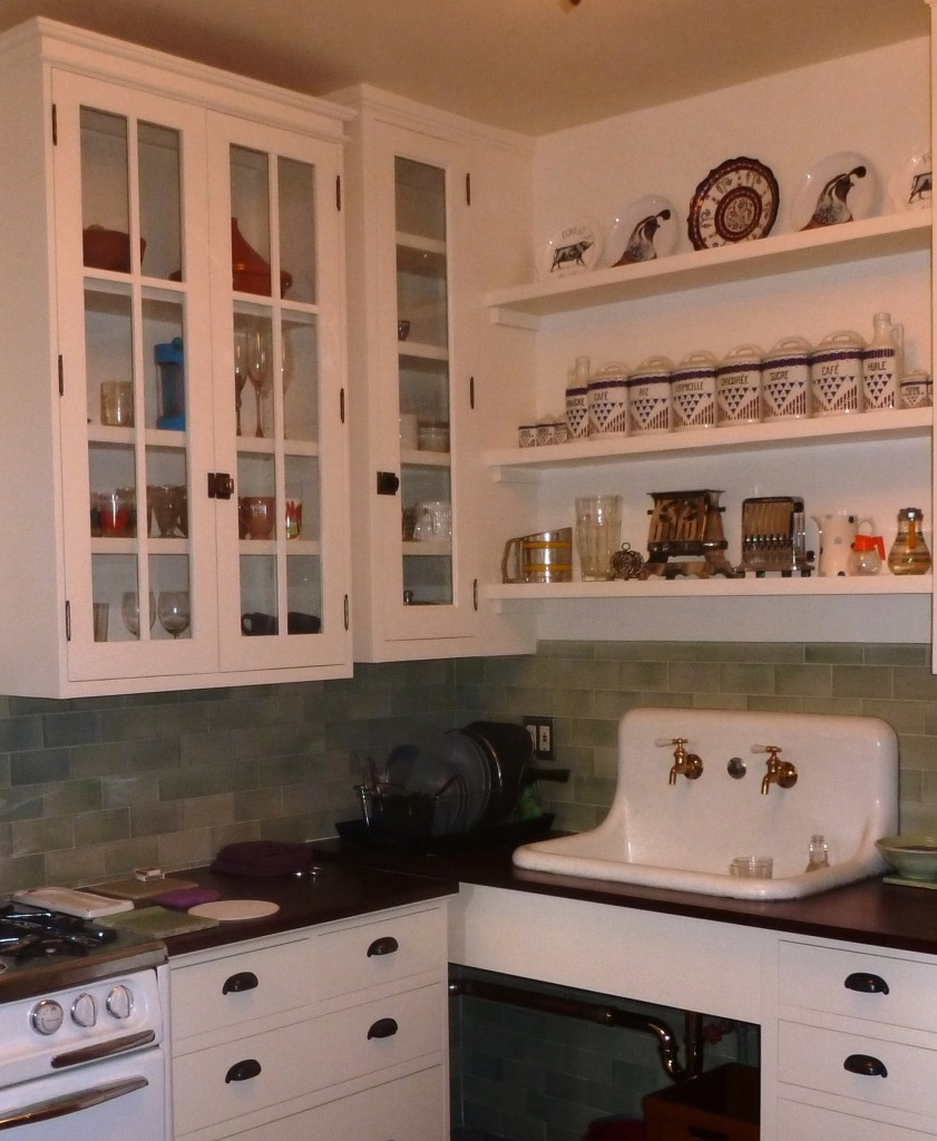 Kitchen with tile and sink for ad