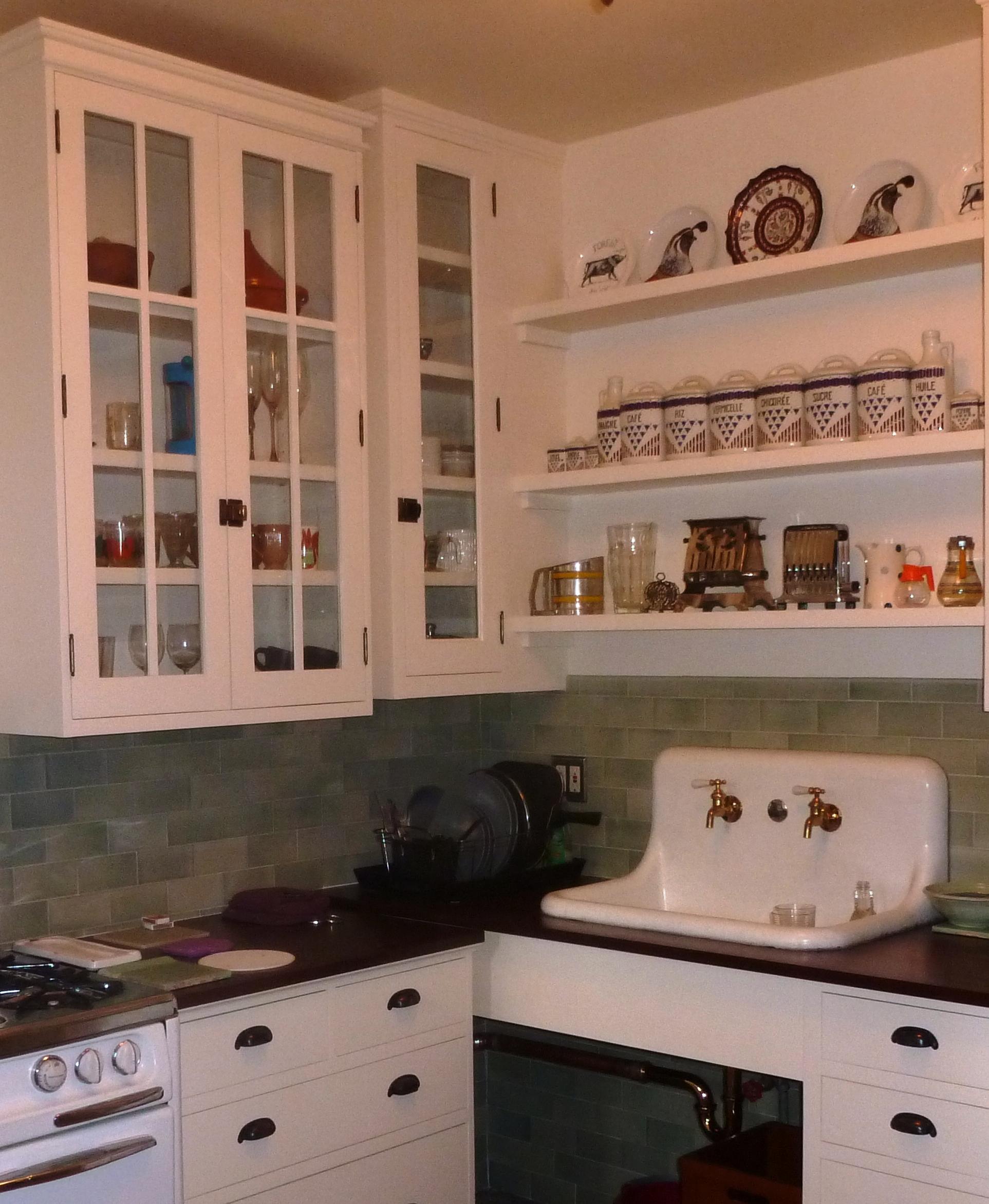 Celadon Tile Kitchen